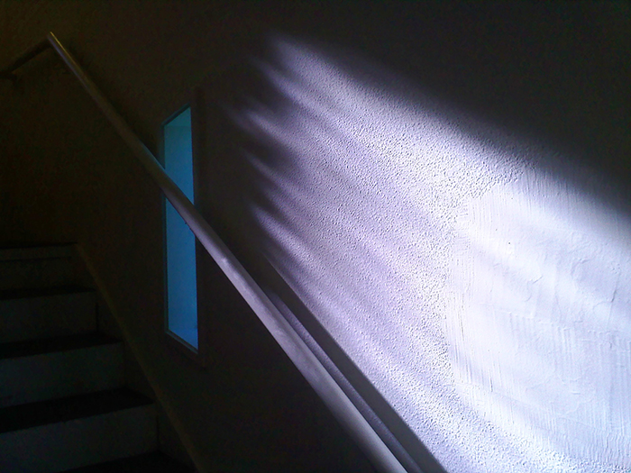 Afternoon Light in the Stairwell
